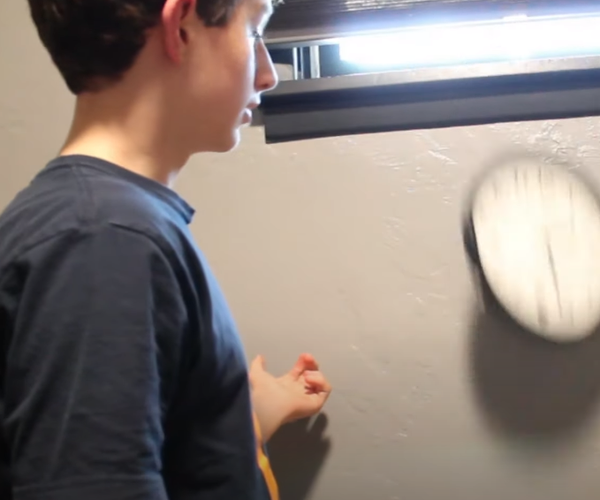 A Clock That Falls Off the Wall When You Look at It