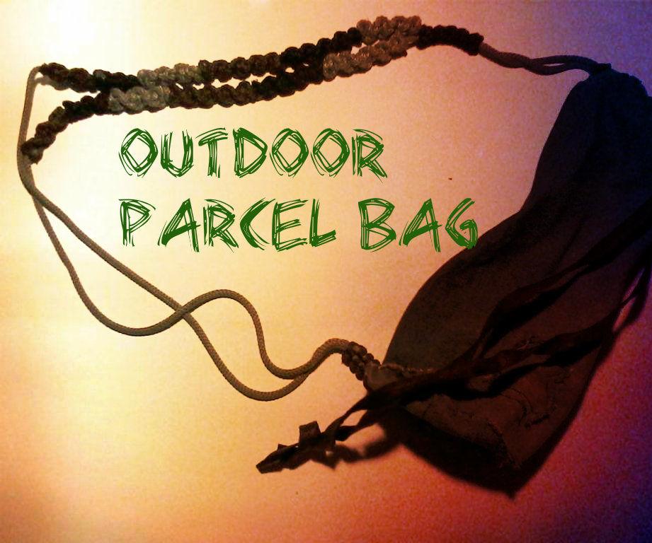OutDoor Parcel Bag (made Scrap Materials)