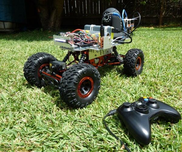 Arduino RC Car With FPV Camera