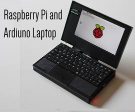 Raspberry Pi and Arduino Laptop