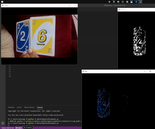 Simple Color-Detection Using OpenCV
