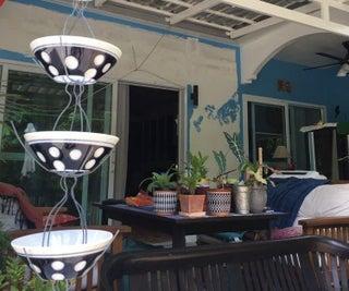 DIY Ceramic Rain Chain