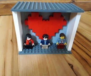 A Heart Stand for All Your Favoritre Lego Figurines