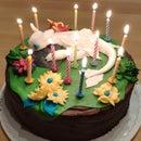 Toothless - Cake Fondant