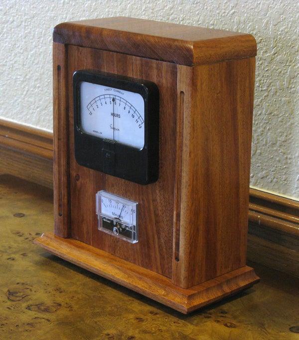 Mantel Clock Case for Chronulator (Meter Clock)