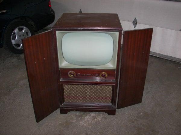 Vintage TV Cabinet Redux