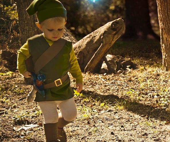 The Littlest Link- Kid Legend of Zelda Costume
