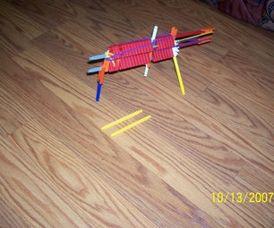 Double Barrel Knex Hand Gun.
