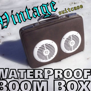BoomBox - Inexpensive and Easy to Build for IPhone and MP3