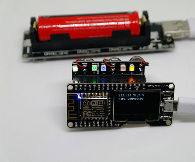 D-duino tutorial(Control LED and vibrating motor by web)