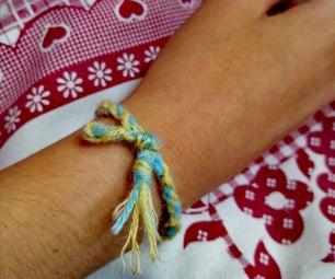 """How to make a """"kumihimo"""" bracelet"""
