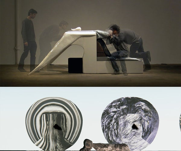 Sculptural Machines for Accessing Virtual Reality