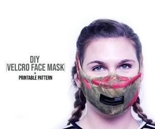Velcro Face Mask