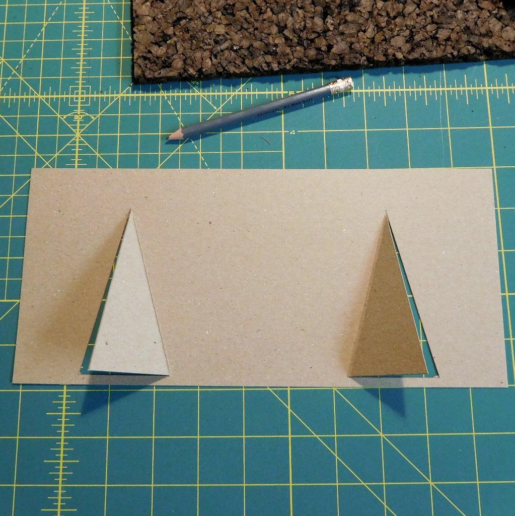 Cut Cork Board & Chipboard for Calendar