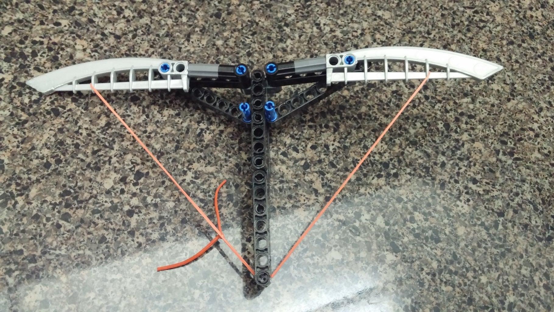 Mini Foldable Lego Crossbow