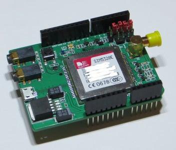 Preparation of 3G/GPRS Shield