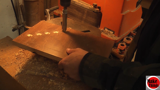 Drilling Holes and Recessing Plywood