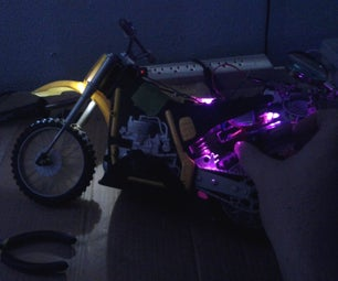 LED Project for RC Dirtbike