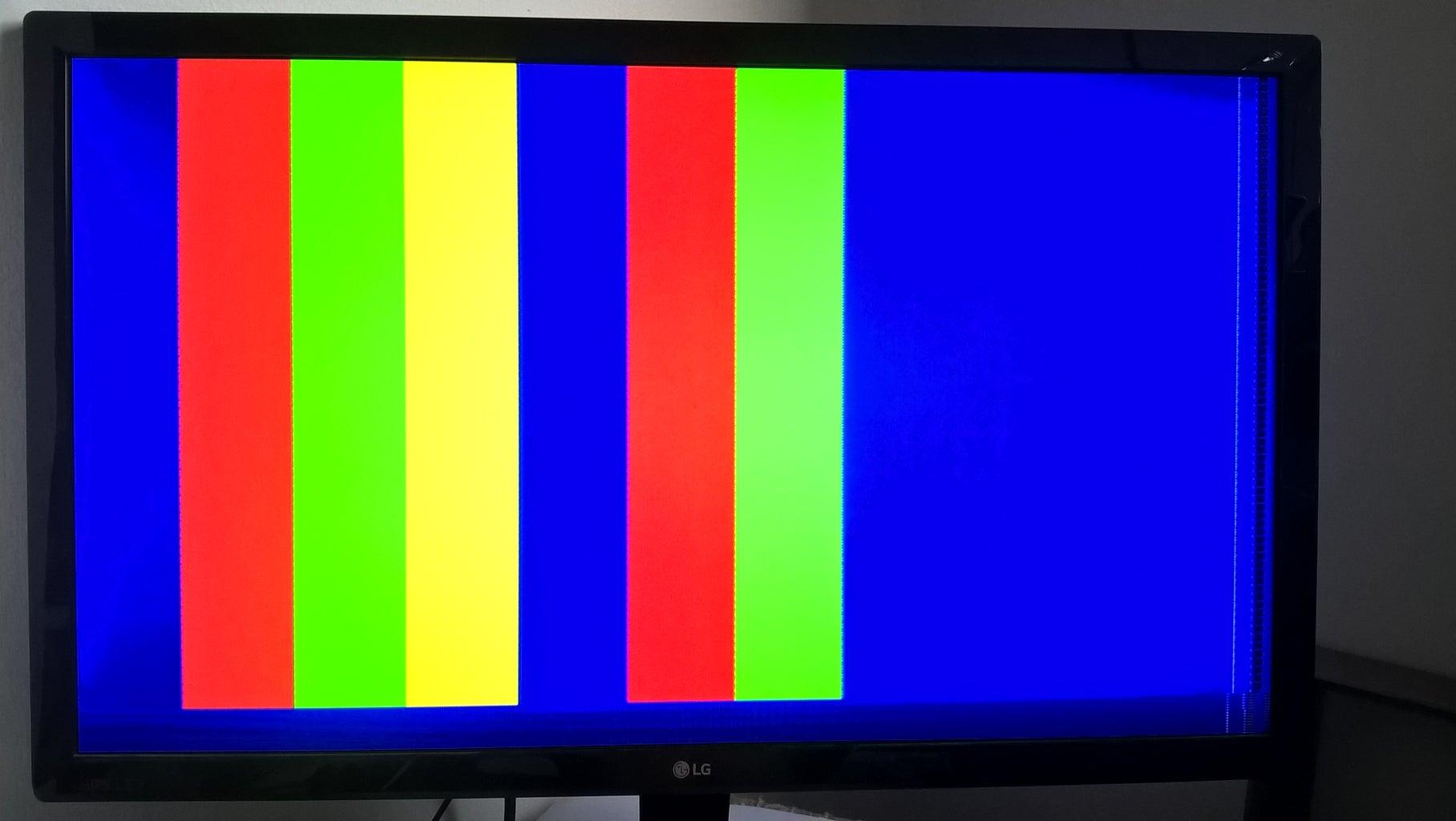 Arduino - VGA Color Bars Gen.