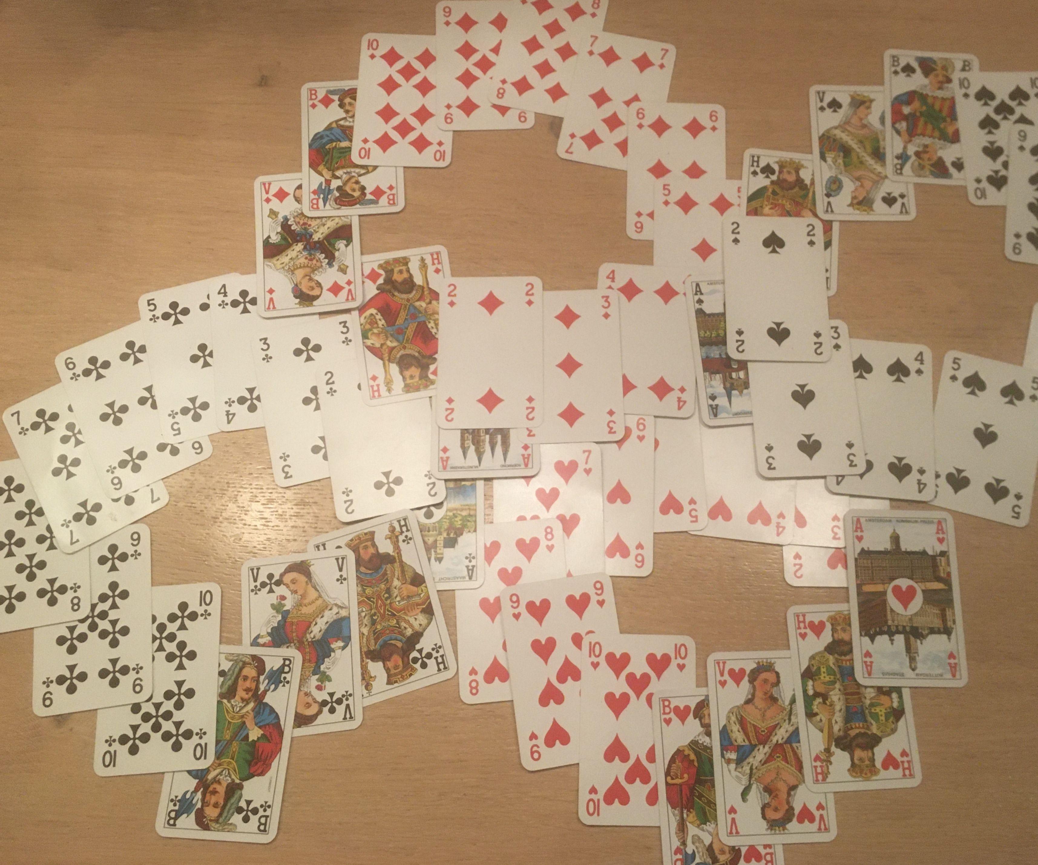 Magic 8 Card Trick