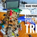 ELECTRONIC COMPONENTS BASED CHRISTMAS TREE