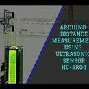 Distance Measurement Using Arduino and Ultrasonic Sensor (HC-SR04)
