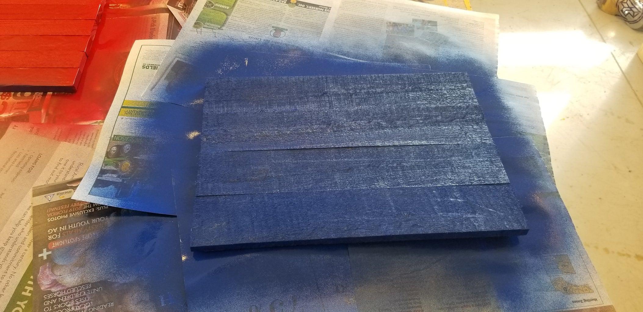 Spray the Canton Blue