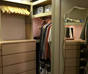 Built-in Closet, the Easy Way