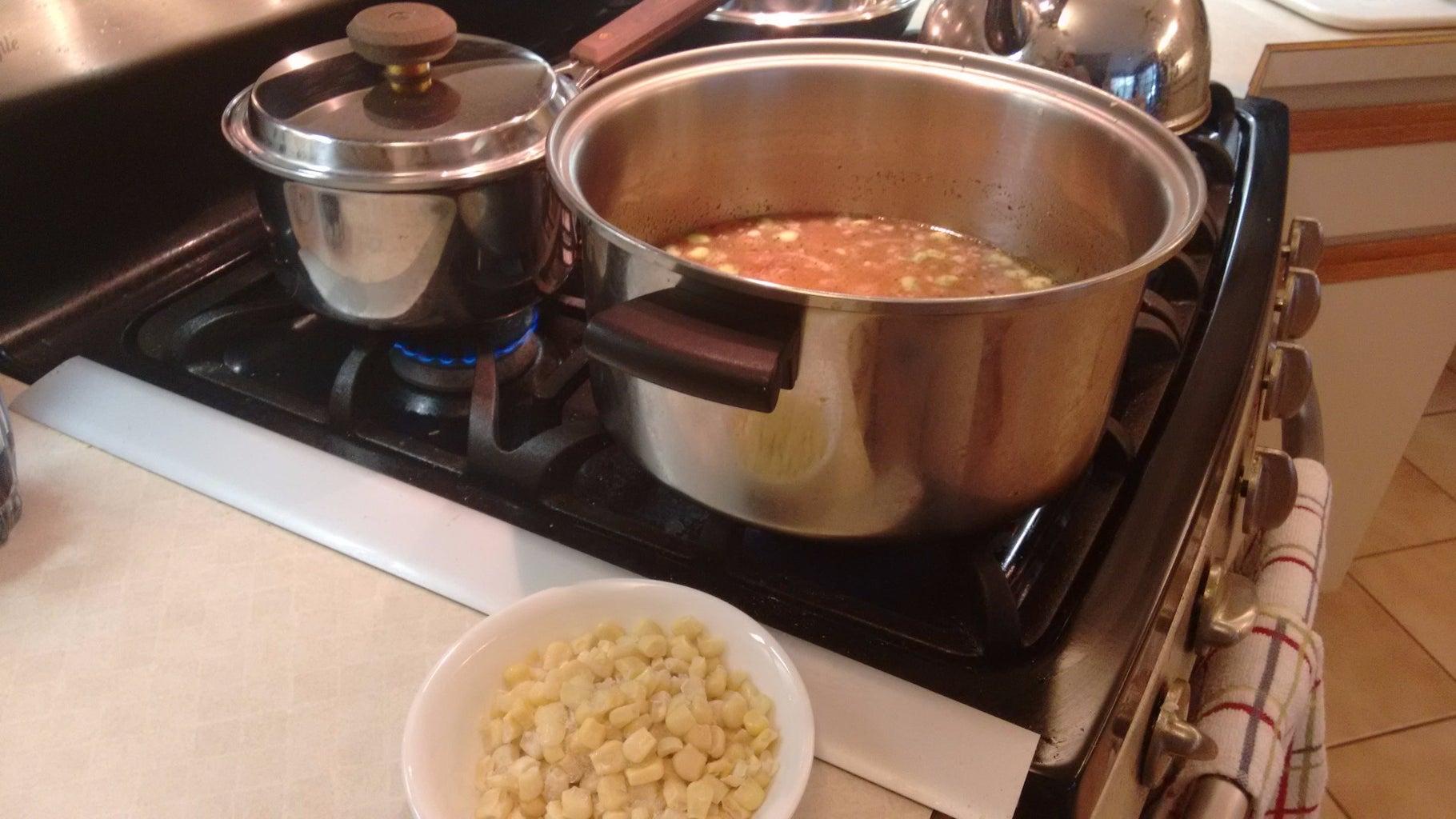 Add Potatoes and Limas