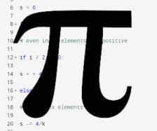 Using Pi-thon to Calculate Pi !