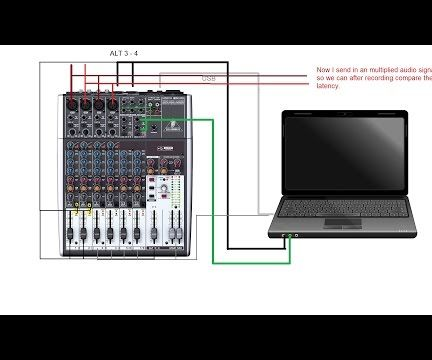 How to record multiple tracks with Behringer XENYX 1204 USB