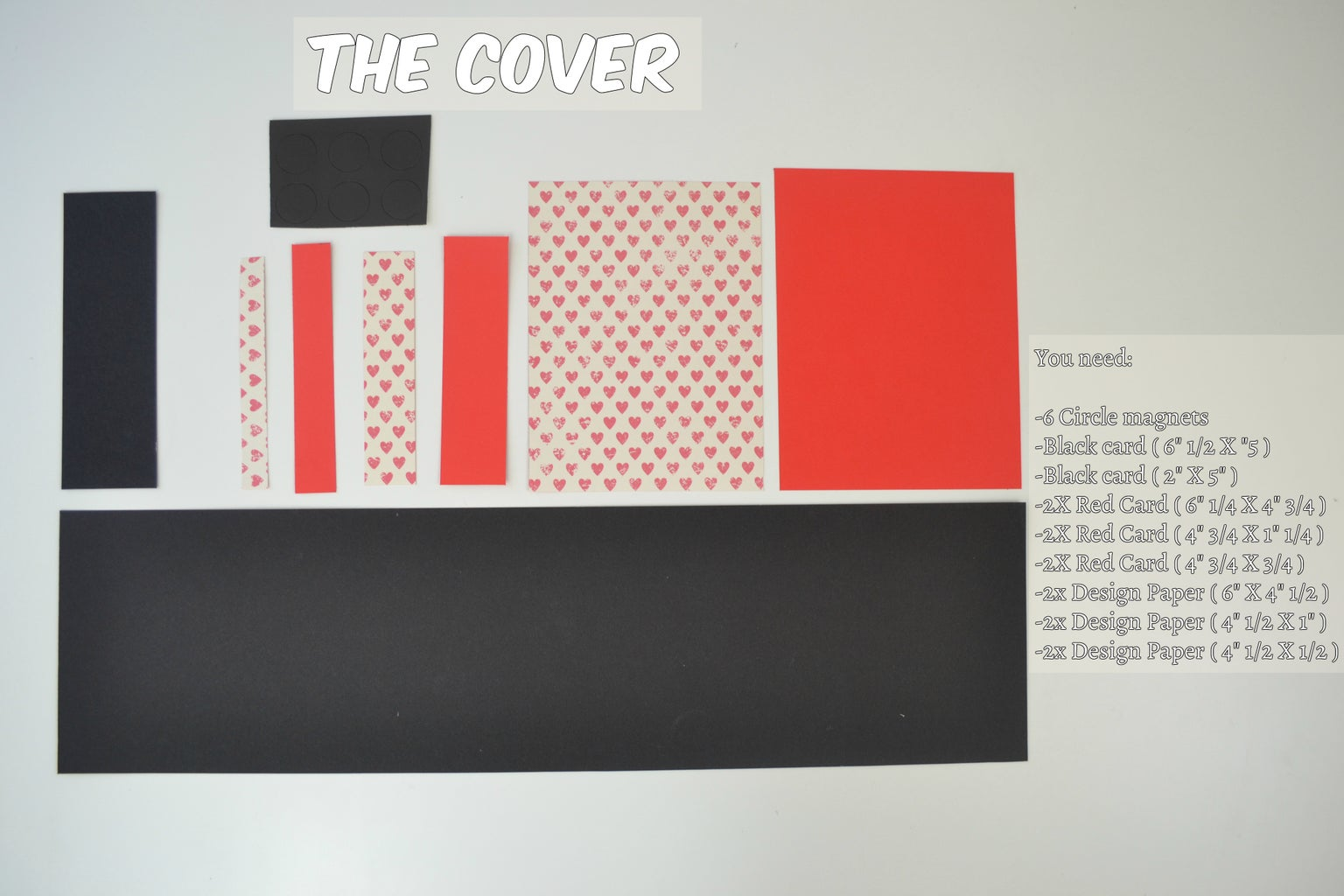 Making the Cover ( Dimensions )