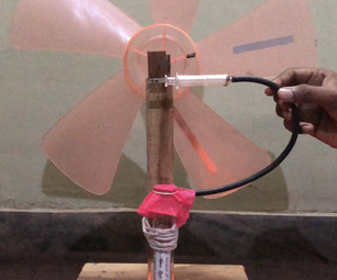Stirling Engine Powered Fan