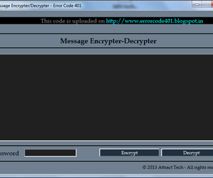 Create Simple Message Encrypter/Decrypter Using Notepad