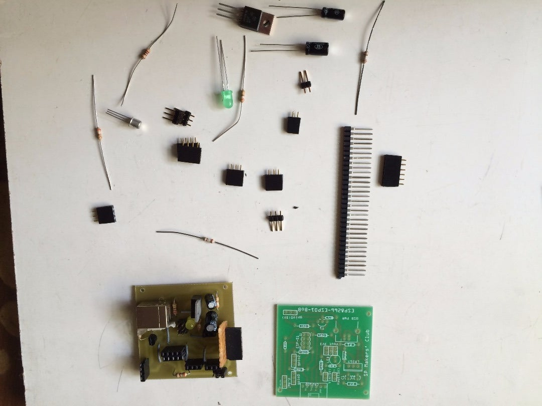 Assembling the ESP8266 Breakout Board