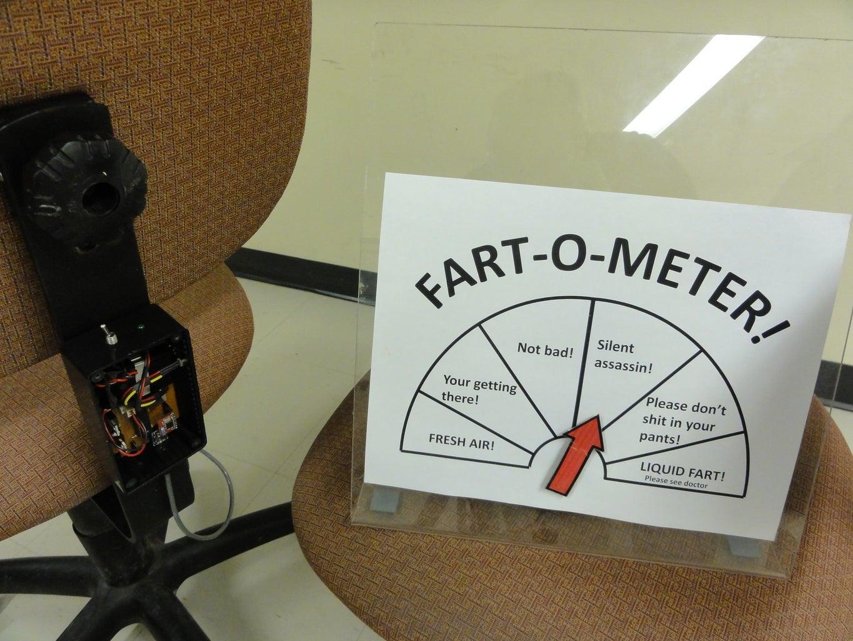 Arduino-Fart-O-Meter