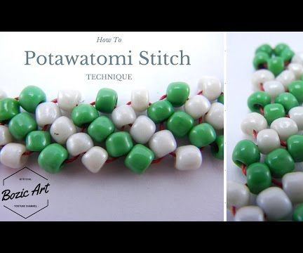 Native American Stitch | Potawatomi Stitch