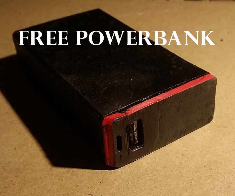 TicTac PowerPack: an Ecologically Friendly Powerbank From Free From Old Laptop Batteries