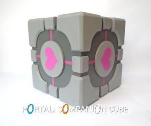 Portal: Companion Cube Storage Box