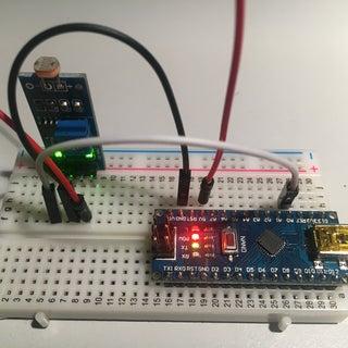 LDR Sensor Module Interface With Arduino