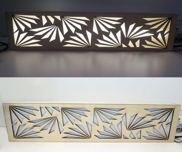 Laser Cut Light Fixture