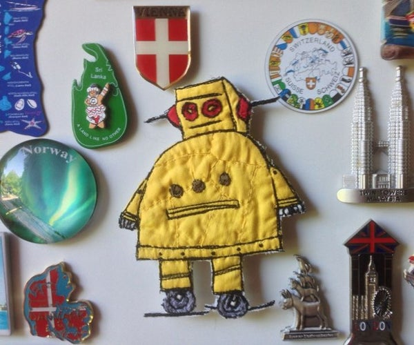 Instructable Robot Magnet