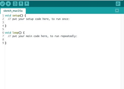 Write Arduino Code