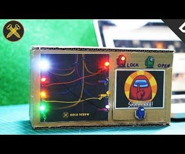 How to Make Security Box Following Among Us Game - Electrical Wiring Task