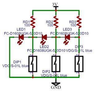 LEDs Switches