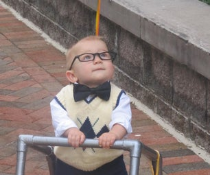 Mr. Fredrickson From UP - Halloween Costume, 8mo+