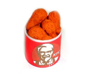 Diy Miniature Kfc Food