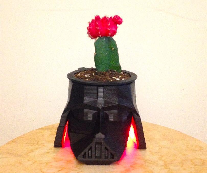Darth Vader Planter