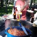 Smoked Swordfish Tacos, Baja California Style