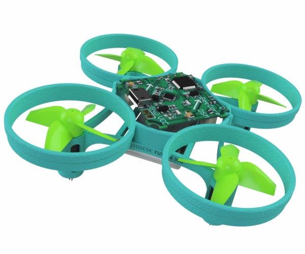 Design a Micro Drone in Autodesk Fusion 360